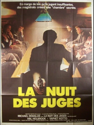 Affiche du film NUIT DES JUGES (LA) - THE STAR CHAMBER