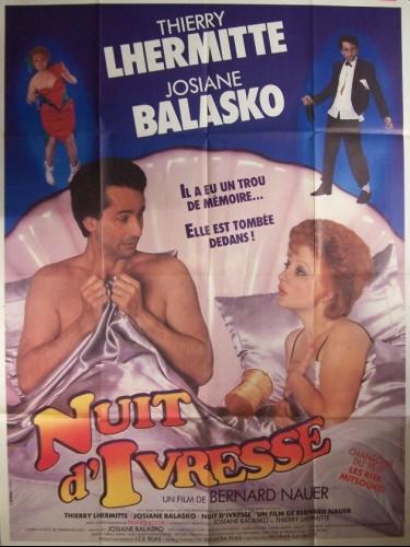 Affiche du film NUIT D'IVRESSE
