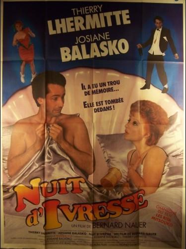 Affiche du film NUITS D'IVRESSE
