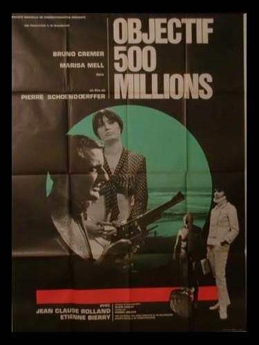 Affiche du film OBJECTIF CINQ CENT MILLIONS - SANGRE EN INDOCHINA