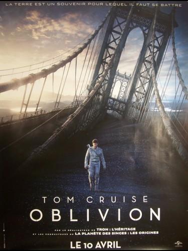 Affiche du film OBLIVION (AFFICHE ROULÉE)