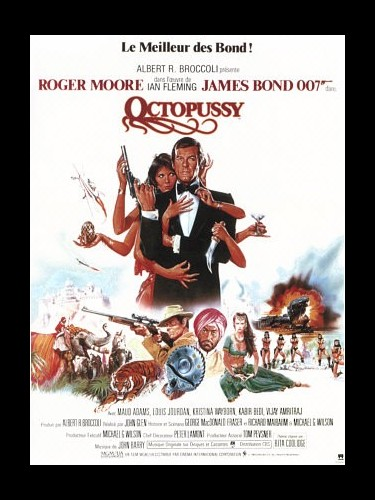 Affiche du film OCTOPUSSY (JAMES BOND)