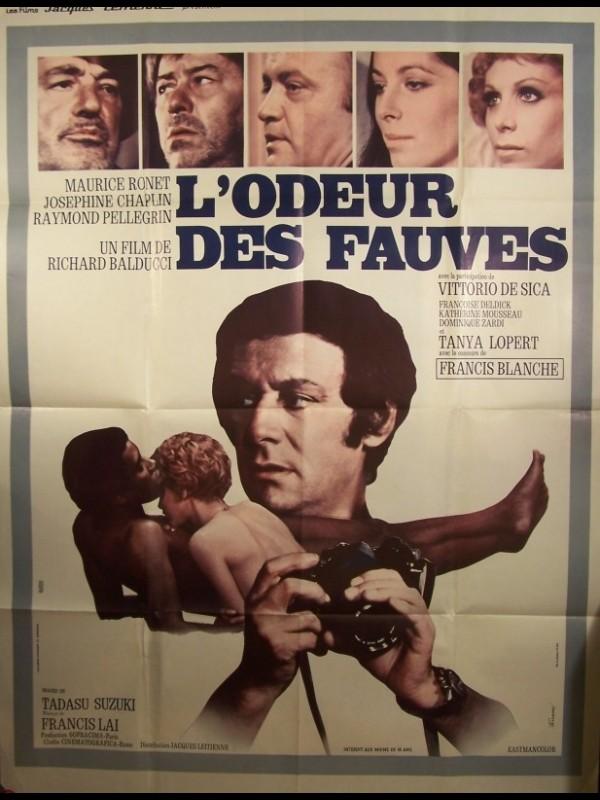 Affiche du film ODEUR DES FAUVES (L')