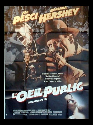 Affiche du film ŒIL PUBLIC (L') - THE PUBLIC EYE