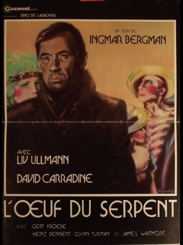 Affiche du film ŒUF DU SERPENT (L')