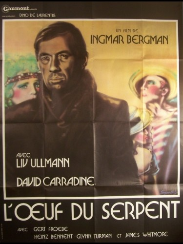 Affiche du film ŒUF DU SERPENT (L') - THE SERPENT'S EGG
