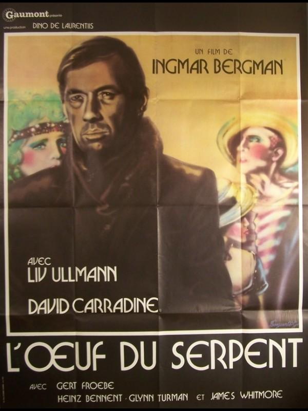 Affiche du film ŒUF DU SERPENT (L') - THE SERPENT'S EGG