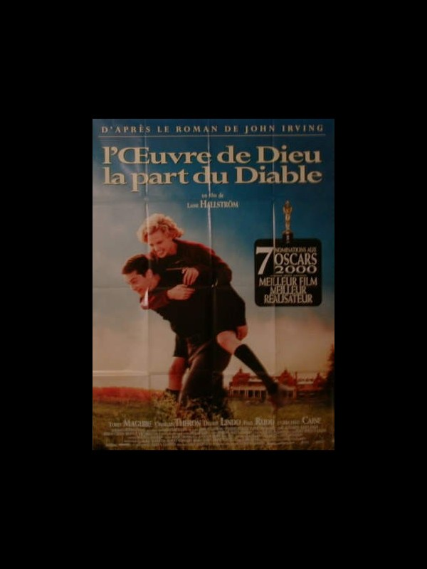Affiche du film ŒUVRE DE DIEU LA PART DU DIABLE (L') - THE CIDER HOUSE RULES