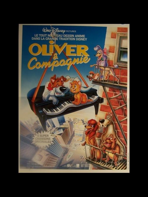 Affiche du film OLIVER ET COMPAGNIE