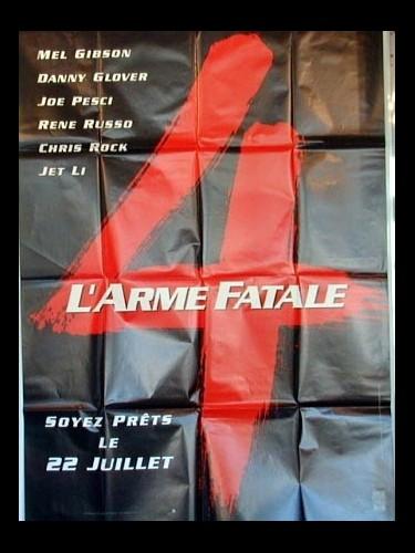 Affiche du film ARME FATALE 4 (L') (SPECIALE) - LETHAL WEAPON 4