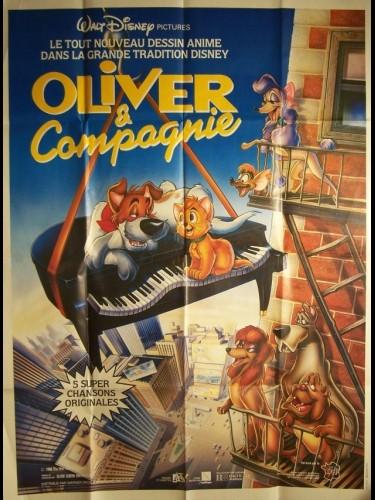 Affiche du film OLIVER ET COMPAGNIE - OLIVER & COMPANY