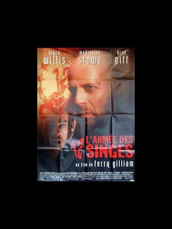 Affiche du film ARMEE DES DOUZE SINGES (L') - 12 MONKEYS