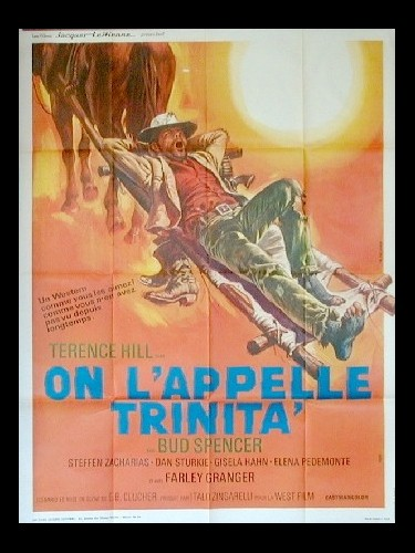 Affiche du film ON L'APPELLE TRINITA (AFFICHE 2)