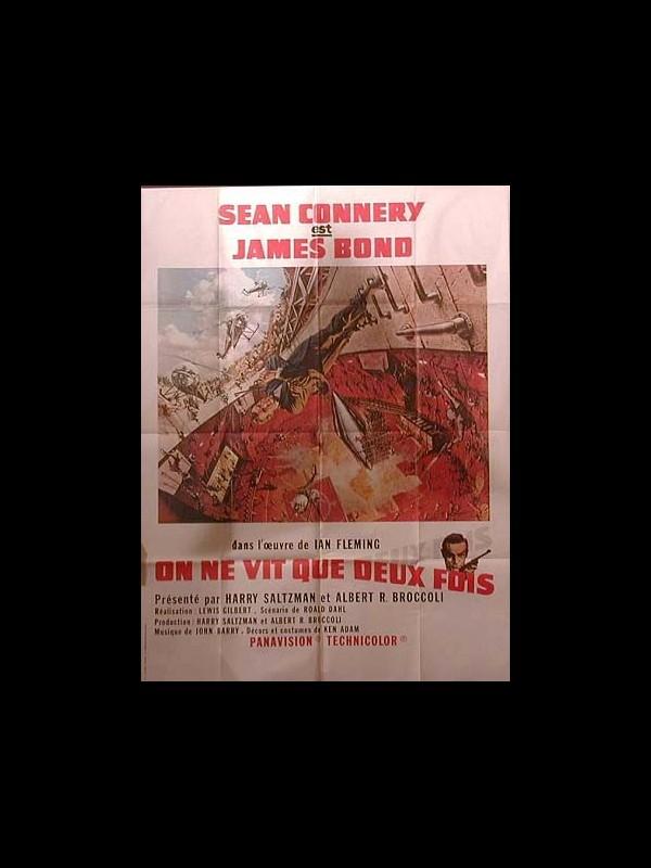 Affiche du film ON NE VIT QUE DEUX FOIS (JAMES BOND) - YOU ONLY LIVE TWICE