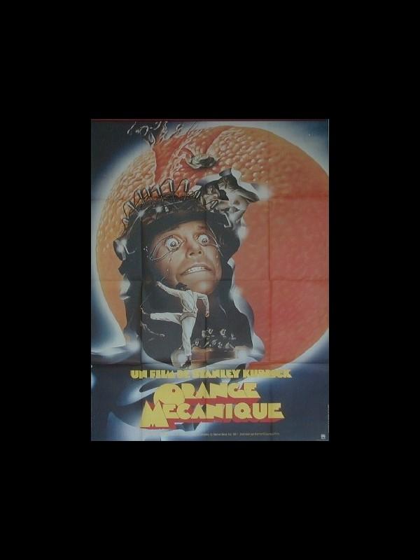 Affiche du film ORANGE MECANIQUE