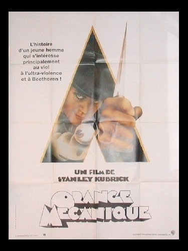 Affiche du film ORANGE MECANIQUE
