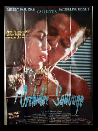 Affiche du film ORCHIDEE SAUVAGE (L')