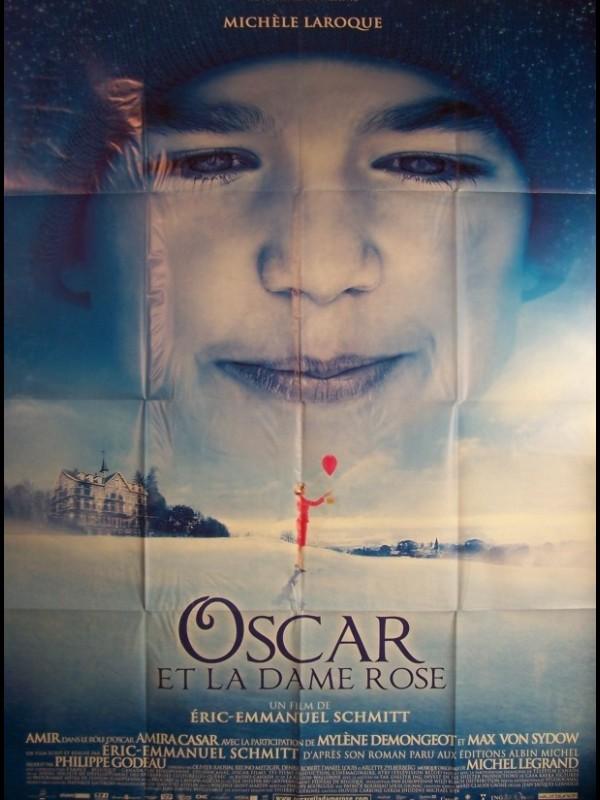 Affiche du film OSCAR ET LA DAME ROSE