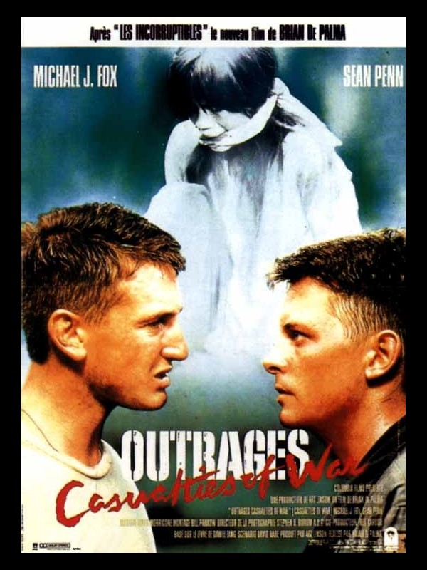 Affiche du film OUTRAGES - CASUALTIES OF WAR