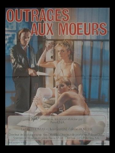 Affiche du film OUTRAGES AUX MOEURS