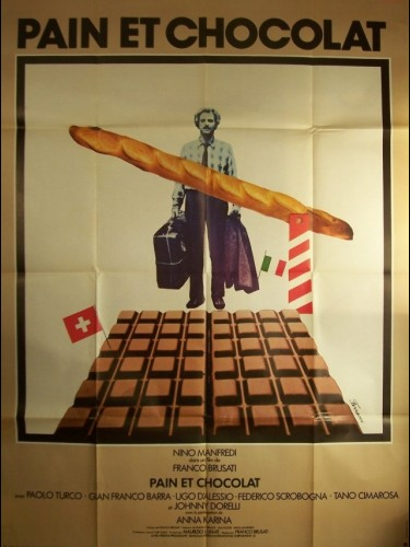 Affiche du film PAIN ET CHOCOLAT