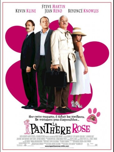 Affiche du film PANTHERE ROSE (LA) - THE PINK PANTHER