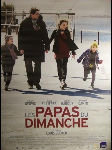 Affiche du film PAPAS DU DIMANCHE (LES) (AFFICHE ROULÉE)