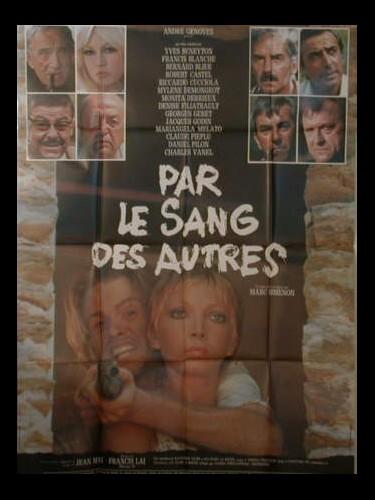 Affiche du film PAR LE SANG DES AUTRES