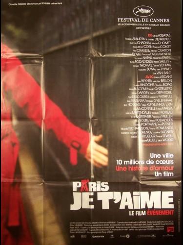 Affiche du film PARIS JE T'AIME