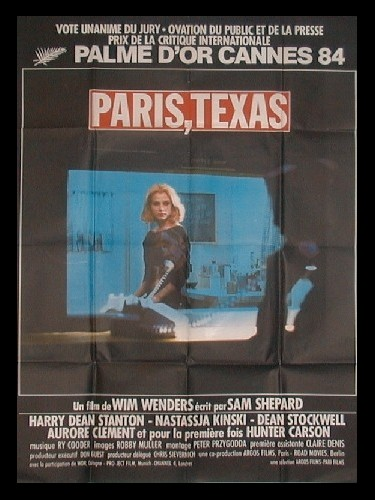 Affiche du film PARIS TEXAS