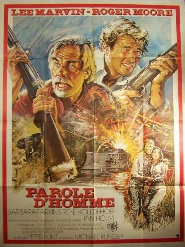 Affiche du film PAROLE D'HOMME - SHOUT AT THE DEVIL