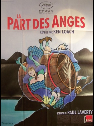 Affiche du film PART DES ANGES (LA)