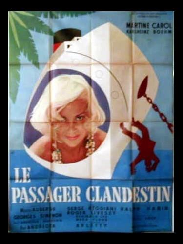 Affiche du film PASSAGER CLANDESTIN (LE)