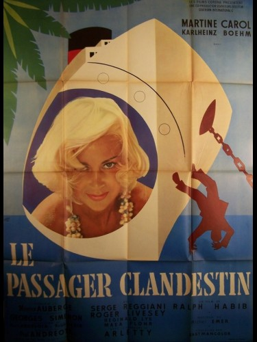 Affiche du film PASSAGER CLANDESTIN (LE) - THE STOWAWAY