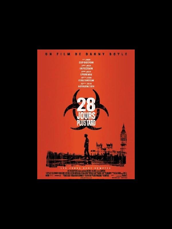 Affiche du film 28 JOURS PLUS TARD - 28 DAYS LATER