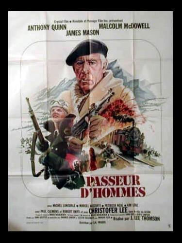 Affiche du film PASSEUR D'HOMMES - THE PASSAGE
