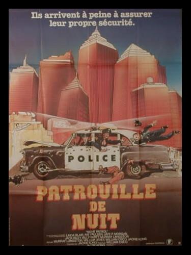 Affiche du film PATROUILLE DE NUIT - NIGHT PATROL