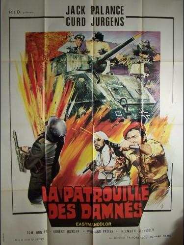 Affiche du film PATROUILLE DES DAMNES (LA) - LA LEGIONE DEI DANNATI