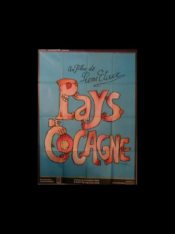 Affiche du film PAYS DE COCAGNE