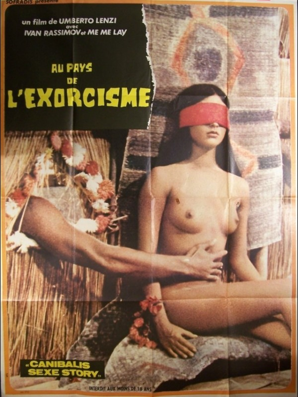 Affiche du film PAYS DE L'EXORCISME (AU) - DEEP RIVER SAVAGES