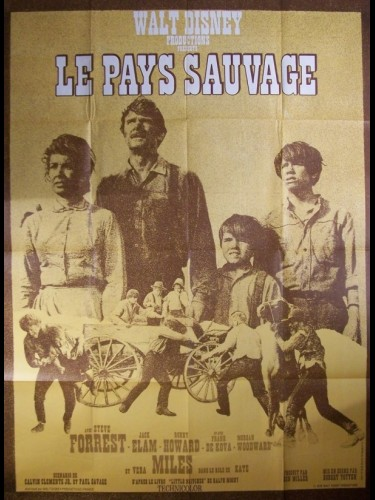 Affiche du film PAYS SAUVAGE (LE) - THE WILD COUNTRY