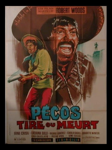 Affiche du film PECOS TIRE OU MEURT