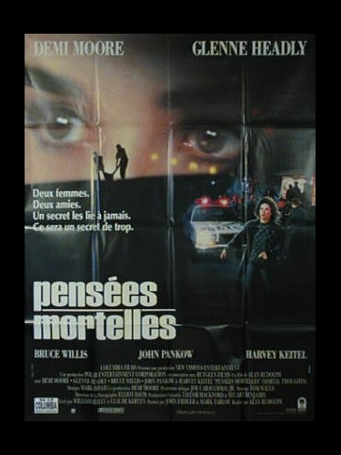 Affiche du film PENSEES MORTELLES - MORTAL THOUGHTS