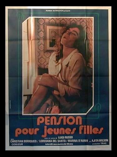 Affiche du film PENSION POUR JEUNES FILLES - PENSIONE AMORE SERVIZIO COMPLETO