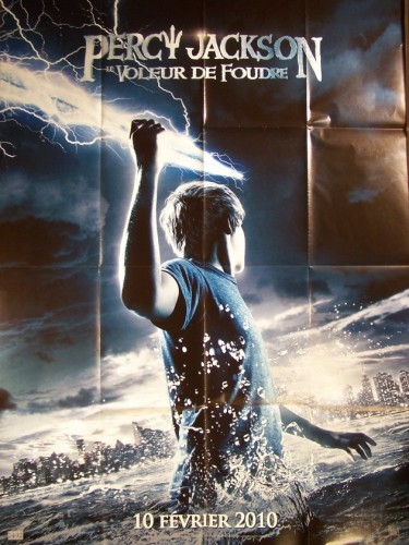 Affiche du film PERCY JACKSON LE VOLEUR DE FOUDRE - PERCY JACKSON AND THE LIGHTNING THIEF