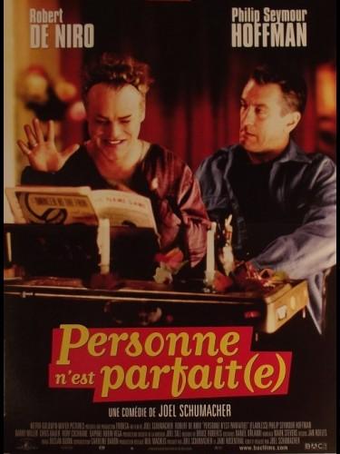 Affiche du film PERSONNE N'EST PARFAIT - FLAWLESS