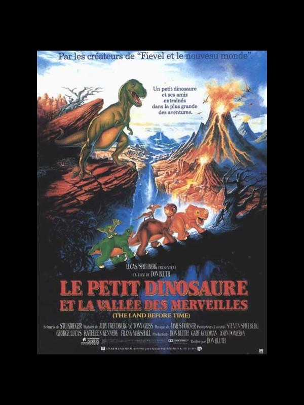 Affiche du film PETIT DINOSAURE ET LA VALLEE DES MERVEILLES (LE) - THE LAND BEFORE TIME