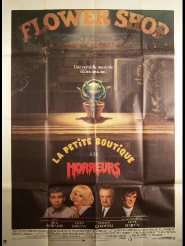 Affiche du film PETITE BOUTIQUE DES HORREURS (LA) - LITTLE SHOP OF HORRORS