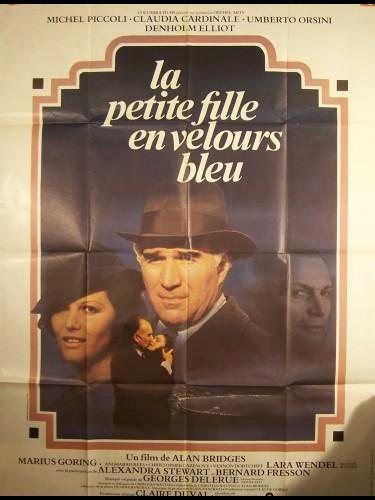Affiche du film PETITE FILLE EN VELOURS BLEU ( LA )