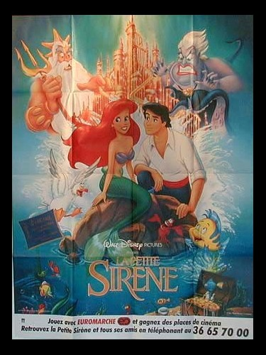 Affiche du film PETITE SIRENE (LA) - THE LITTLE MERMAID